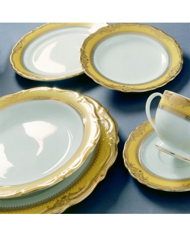 """Vanessa Gold  12"""" Charger Plate"""