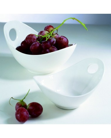 """Whittier 10"""" Fruit Bowl with Cut Out"""