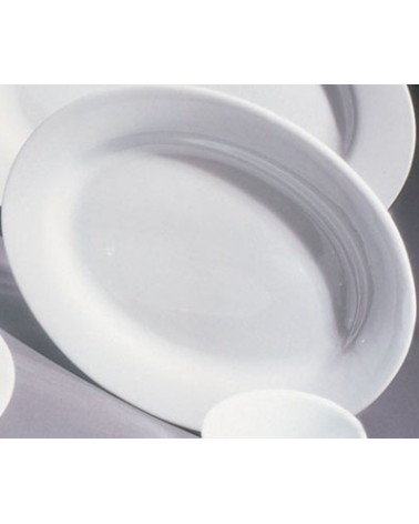 "Bistro 12"" Oval Plate"