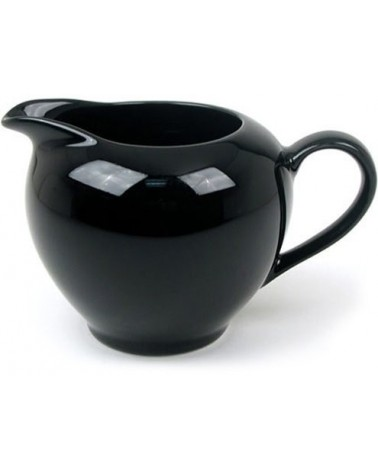 Black Rim  Creamer (8 oz.)