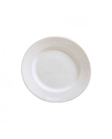 "Classic White  8"" Salad Dessert Plate"