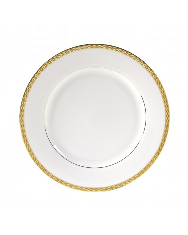 "Athens Gold 10.625"" Dinner Plate"