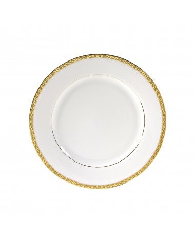 "Athens Gold 9"" Luncheon Plate"