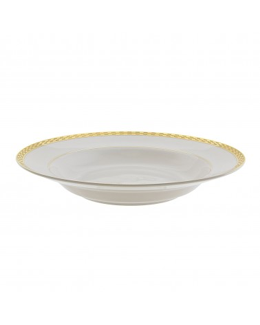 "Athens Gold 9"" Rim Soup (8 oz.)"
