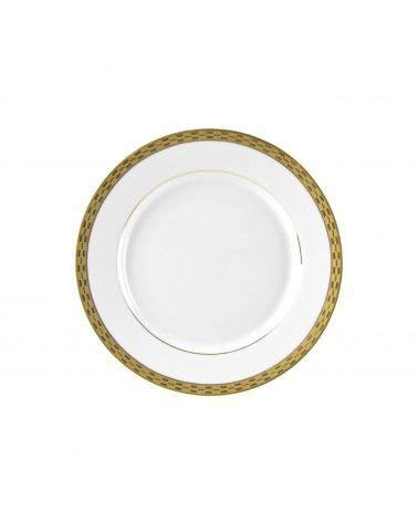 "Athens Gold 7.75"" Salad Dessert Plate"