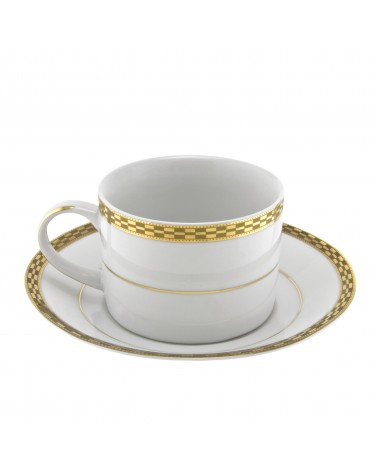 Athens Gold Can Cup Saucer (6 oz.)