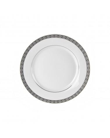 "Athens Platinum 7.75"" Salad Dessert Plate"