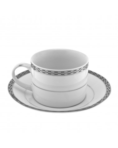 Athens Platinum Can Cup Saucer (6 oz.)