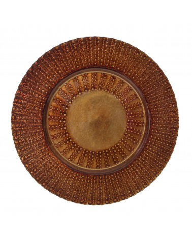 "Aztec Collection 13"" Copper Charger"