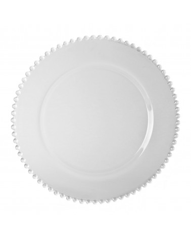 "Belmont Clear 13"" Charger Plate"