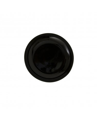 "Black Coupe 6"" Bread & Butter Plate"