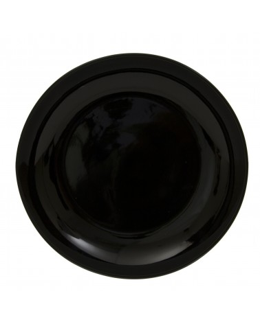 "Black Coupe 12"" Charger Plate"