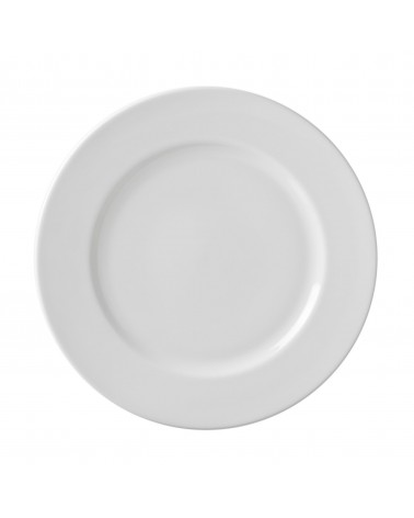 "Classic White 10.25"" Dinner Plate"