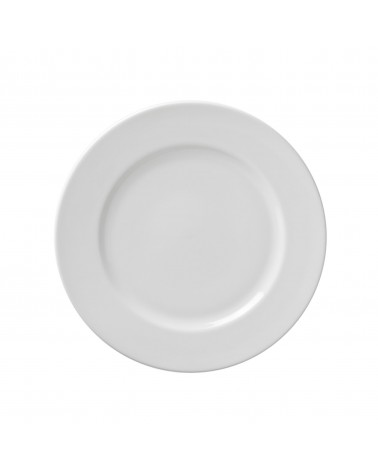 "Classic White 9"" Luncheon Plate"