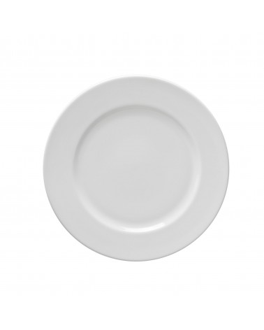 "Classic White  7.5"" Salad Dessert Plate"