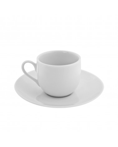 Classic White Ballet Demi Cup Saucer (4 oz.)