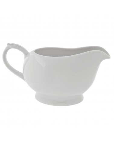 Classic White One Piece Gravy Boat (16 oz.)