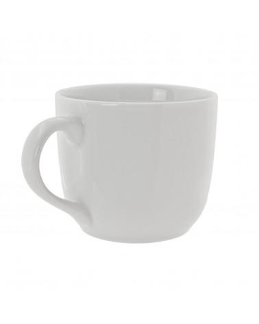 Classic White Round Latte Mug (10 oz.)