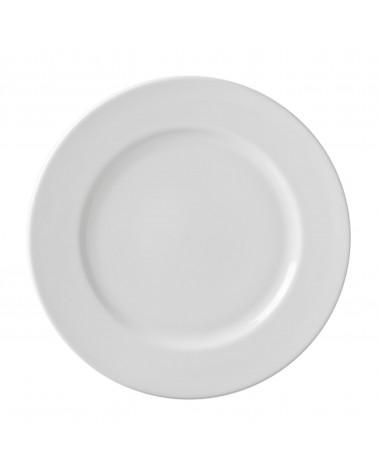 "Classic White 11"" Dinner Plate"