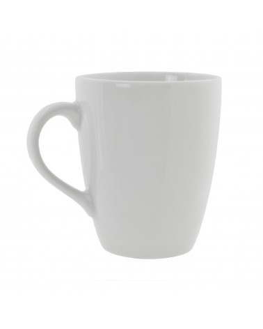 Classic White Barrel Mug (10 oz.)