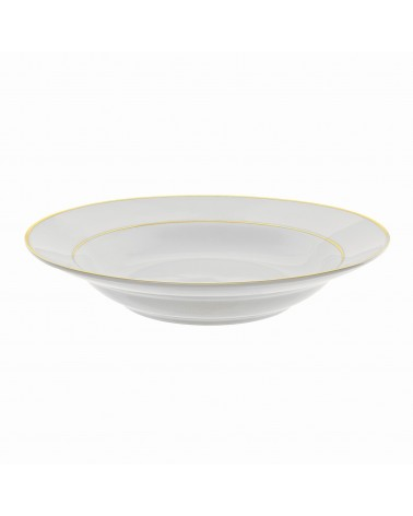 "Double Gold  9"" Rim Soup (12 oz.)"