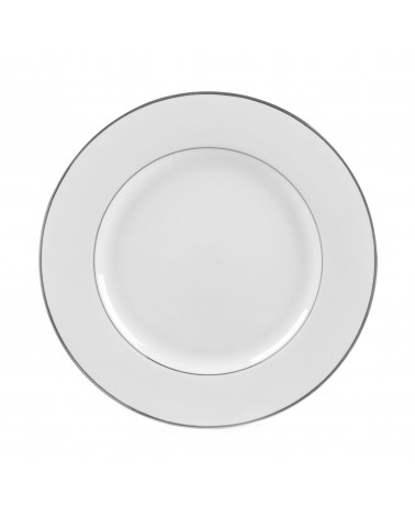 "Double Silver  10.25"" Dinner Plate"