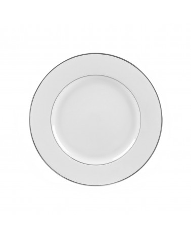 "Double Silver  9"" Luncheon Plate"