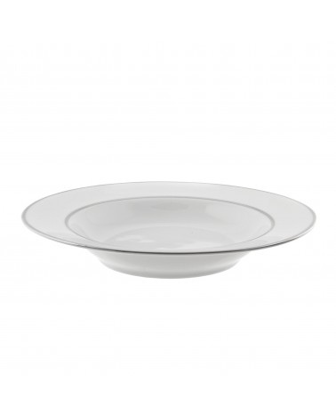 "Double Silver  9"" Rim Soup (12 oz.)"