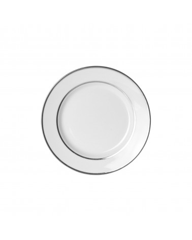 "Double Silver  6"" Bread & Butter Plate"