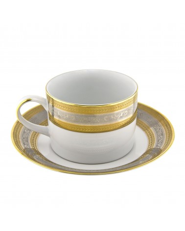 Elegance  Can Cup Saucer (6 oz.)