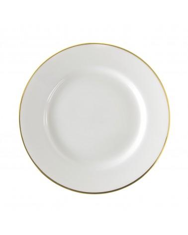 """Gold Line 10.25"""" Dinner Plate"""