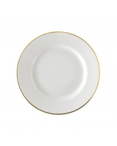 "Gold Line  9"" Luncheon Plate"