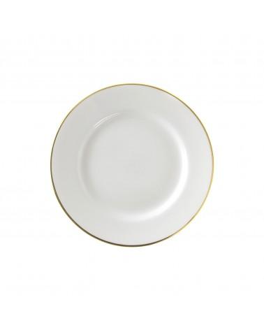 "Gold Line  7.5"" Salad Dessert Plate"