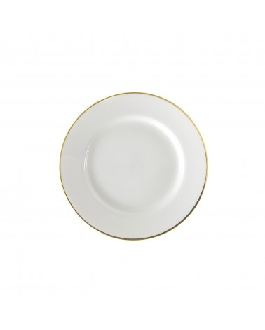 "Gold Line  6"" Bread & Butter Plate"