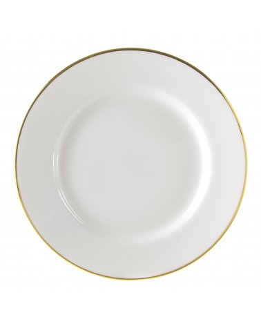 """Gold Line  12"""" Charger Plate"""