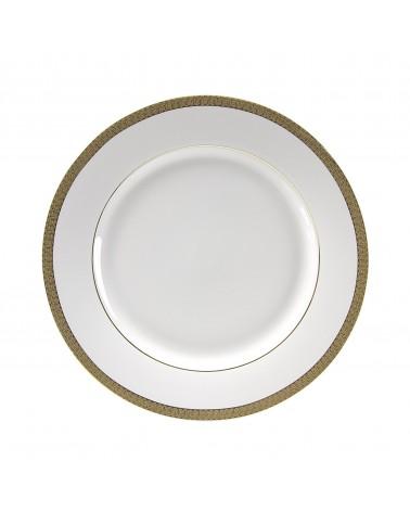 """Luxor Gold   10.625"""" Dinner Plate"""