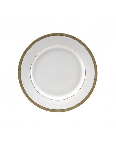 "Luxor Gold   9"" Luncheon Plate"