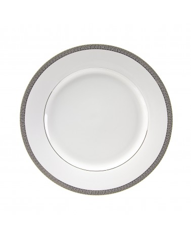 "Luxor Platinum  10.625"" Dinner Plate"