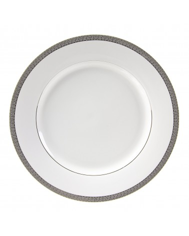 "Luxor Platinum  12"" Charger Plate"