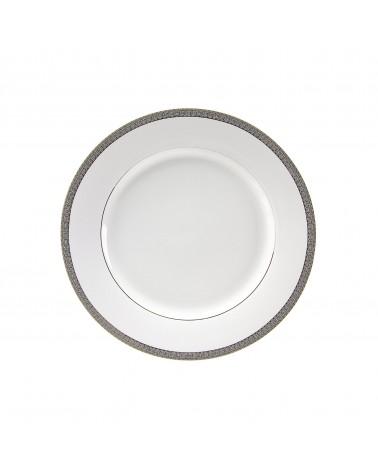"Luxor Platinum  9"" Luncheon Plate"