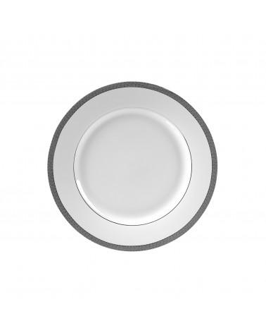 "Luxor Platinum  7.75"" Salad Dessert Plate"