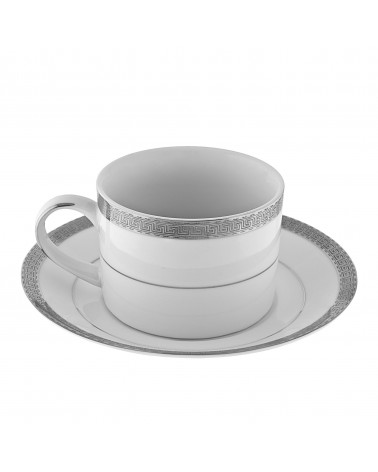 Luxor Platinum  Can Cup Saucer (6 oz.)