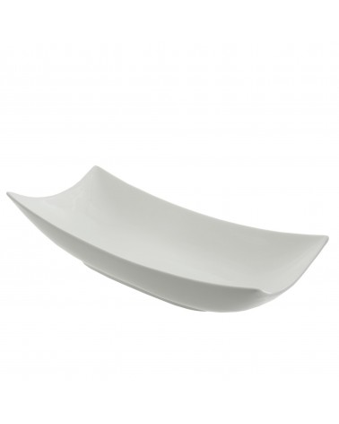 "Oslo 21"" Rolled Coupe Platter"