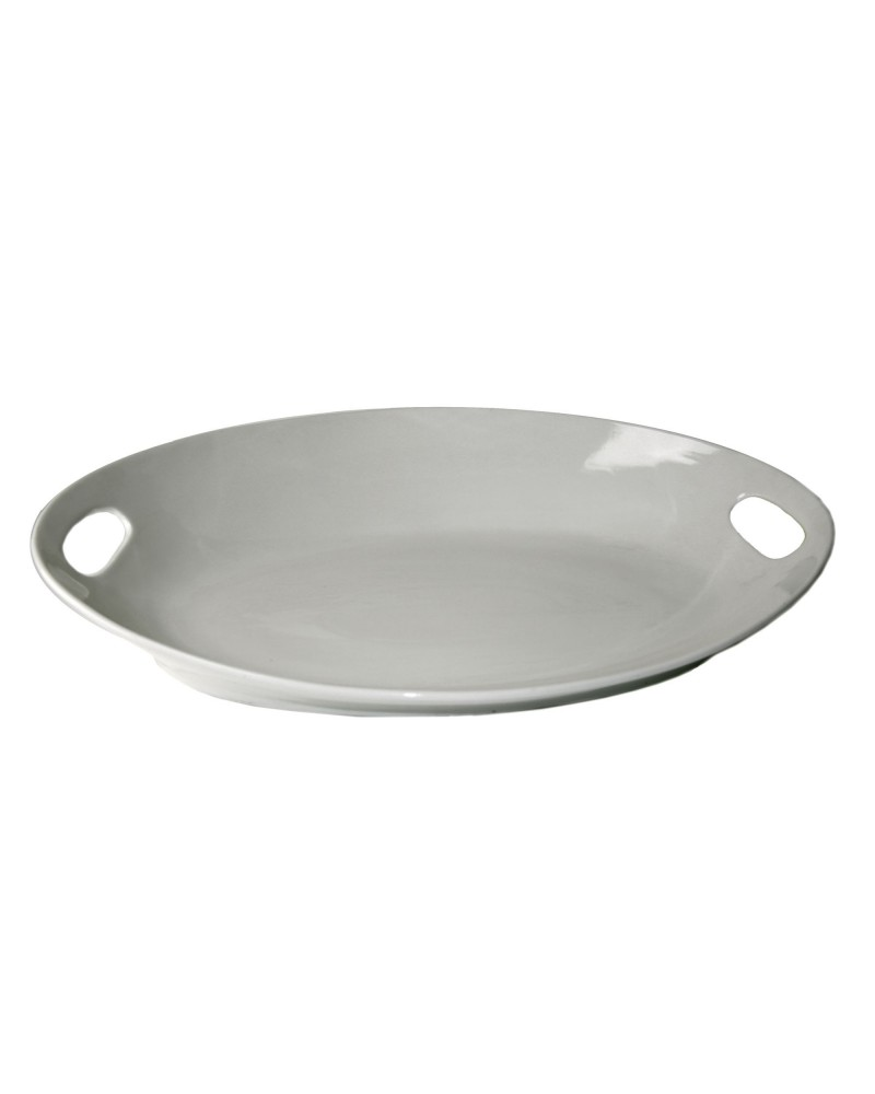 "Oslo 22"" Oval Handle Platter"