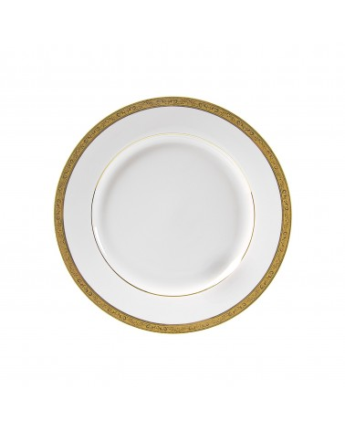 "Paradise Gold  9"" Luncheon Plate"