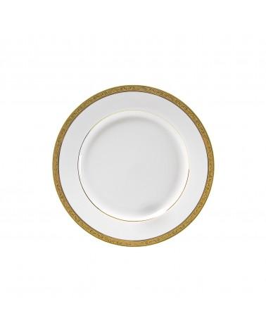 "Paradise Gold 7.75"" Salad Dessert Plate"