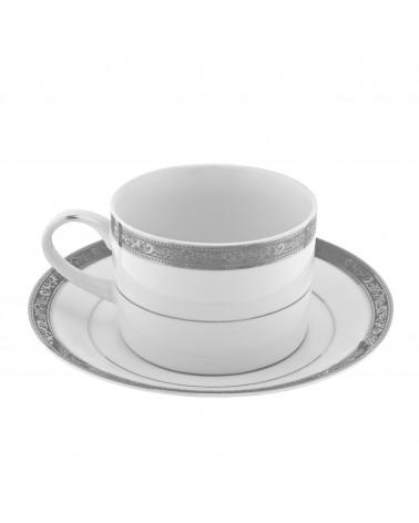 Paradise Platinum Can Cup Saucer (6 oz.)