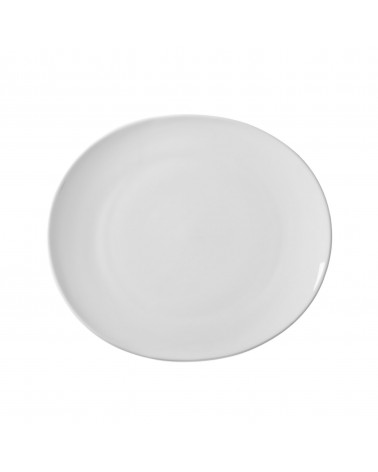 "Royal Oval 8"" Salad Dessert Plate"