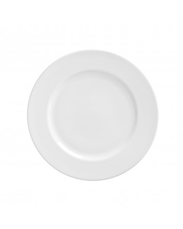 "Royal White   9"" Luncheon Plate"