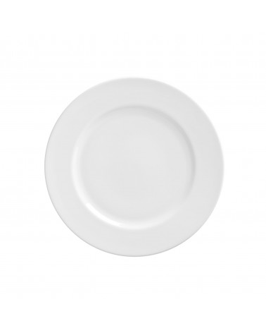 "Royal White   7.5"" Salad Dessert Plate"